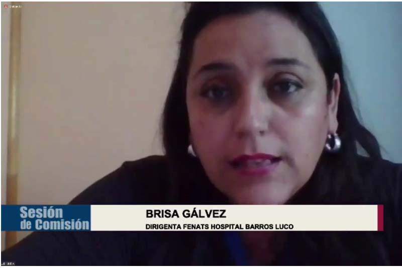 Dirigenta del Hospital Barros Luco y derecho a descanso de trabajadores de la Salud: Hay que incrementar asignaciones en la Ley de Presupuesto 2022
