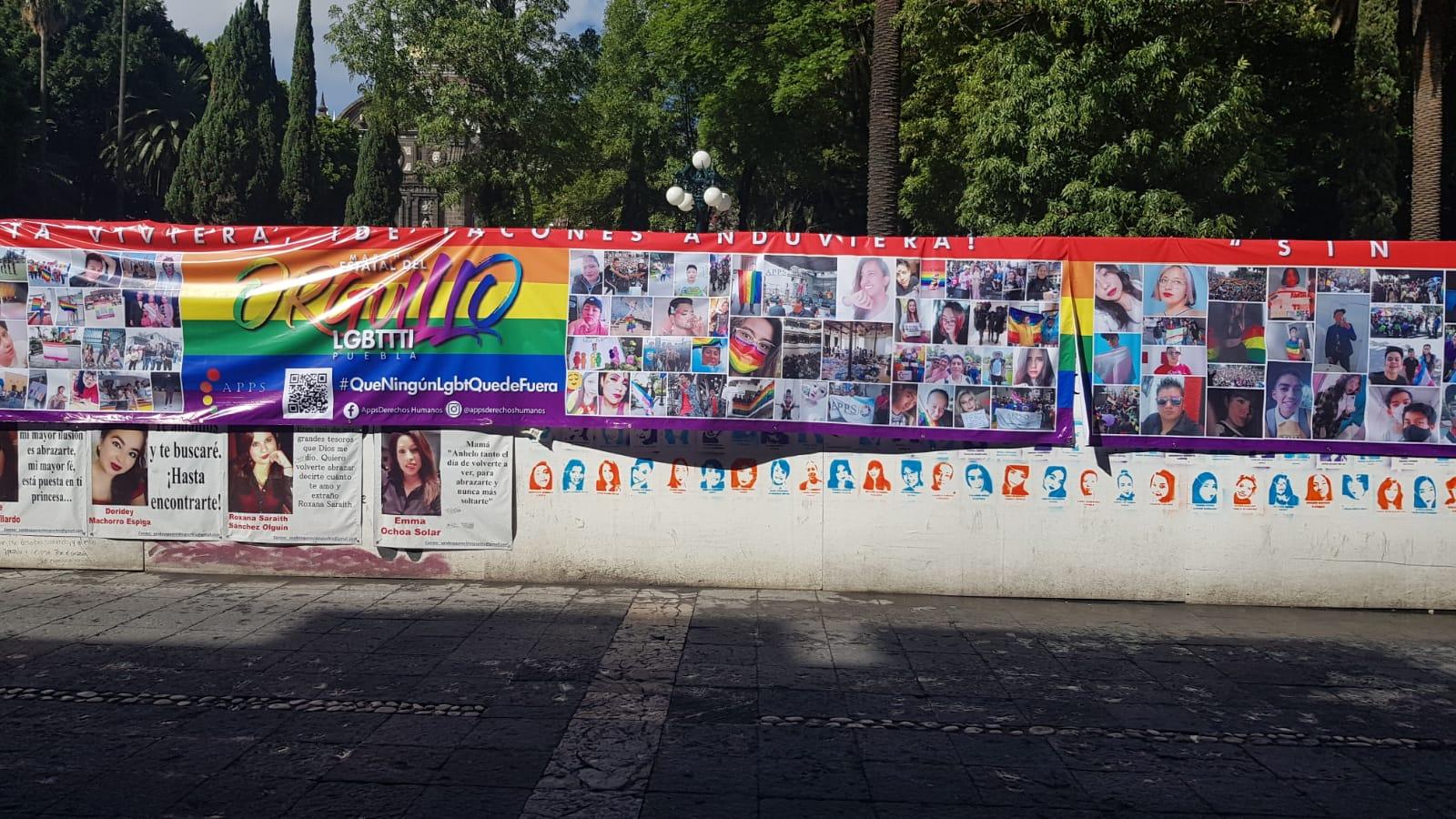 Comienzan marchas LGBT en Puebla para celebrar el #Pride2021