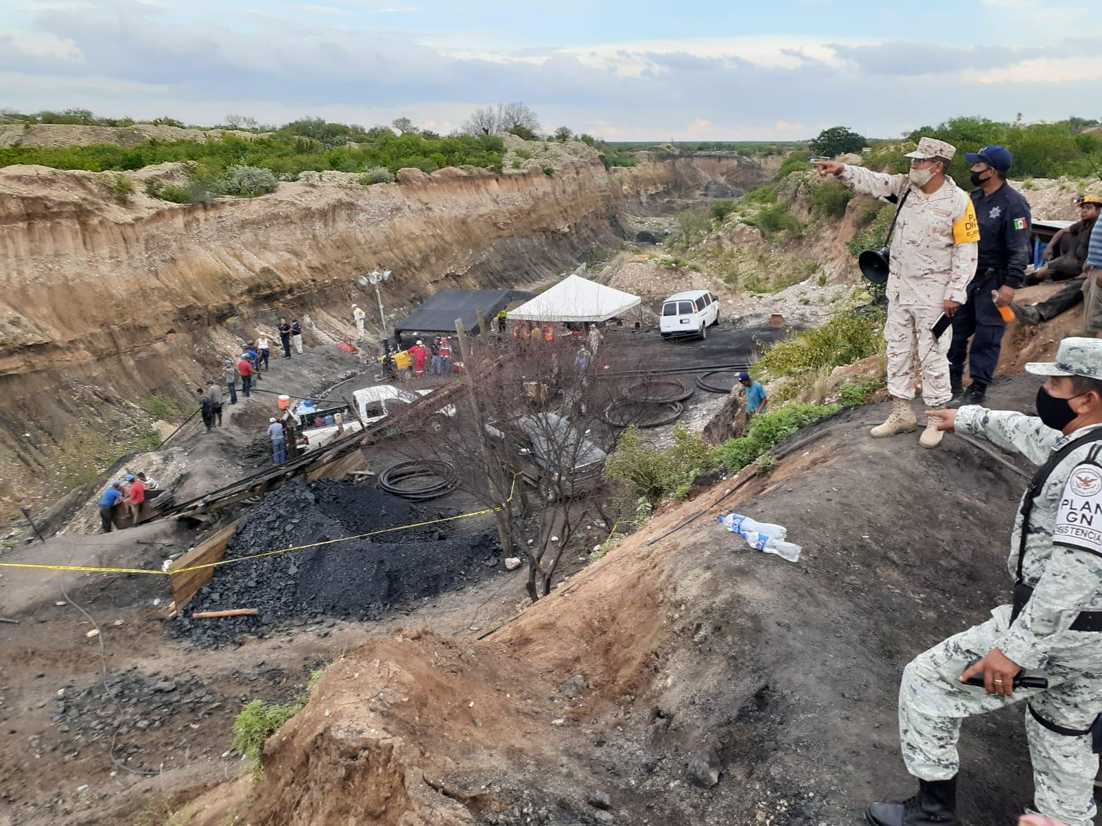 Hay esperanza para salvar a siete mineros atrapados en Coahuila
