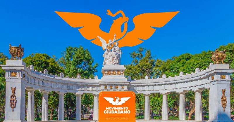 Movimiento Ciudadano, la tercera fuerza política de Puebla, atrás de Morena, el PAN, y sus respectivos aliados
