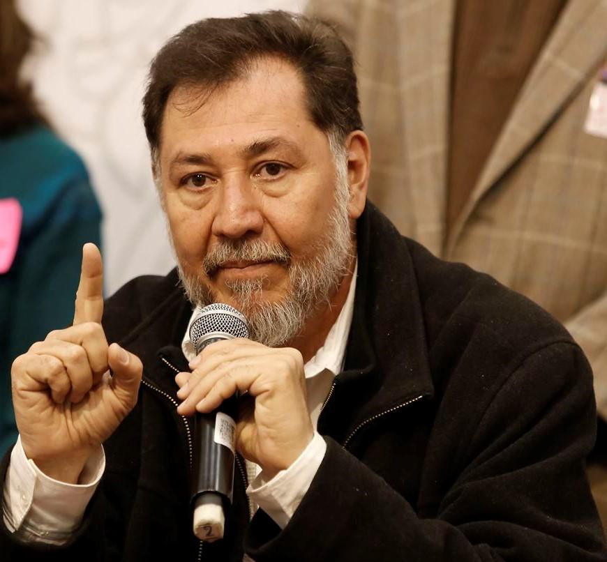 Gerardo Fernández Noroña quiere ser presidente de México, confirma