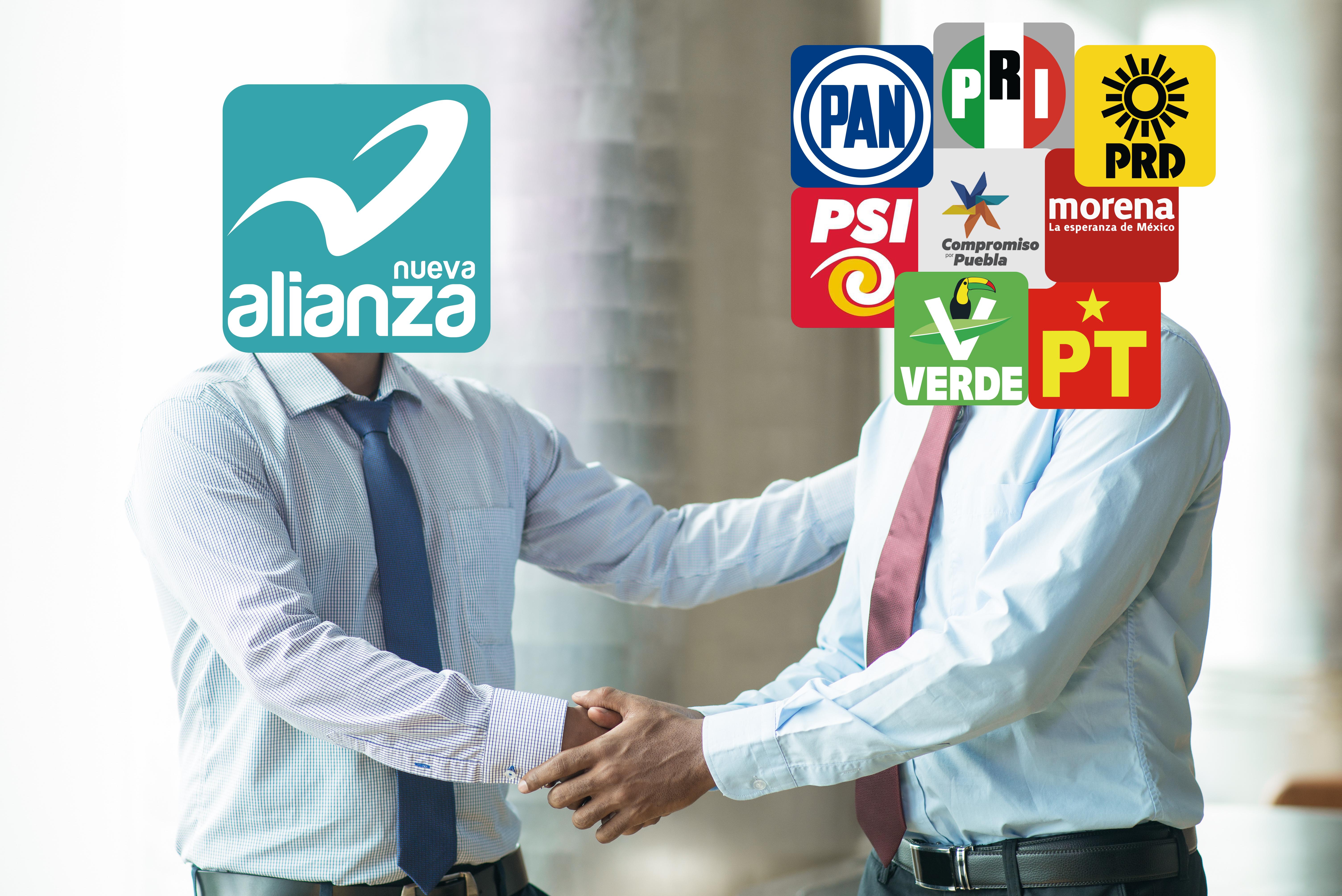 """El partido que lleva la """"Alianza"""" en el nombre, encontró en esta práctica su salvación en Puebla"""