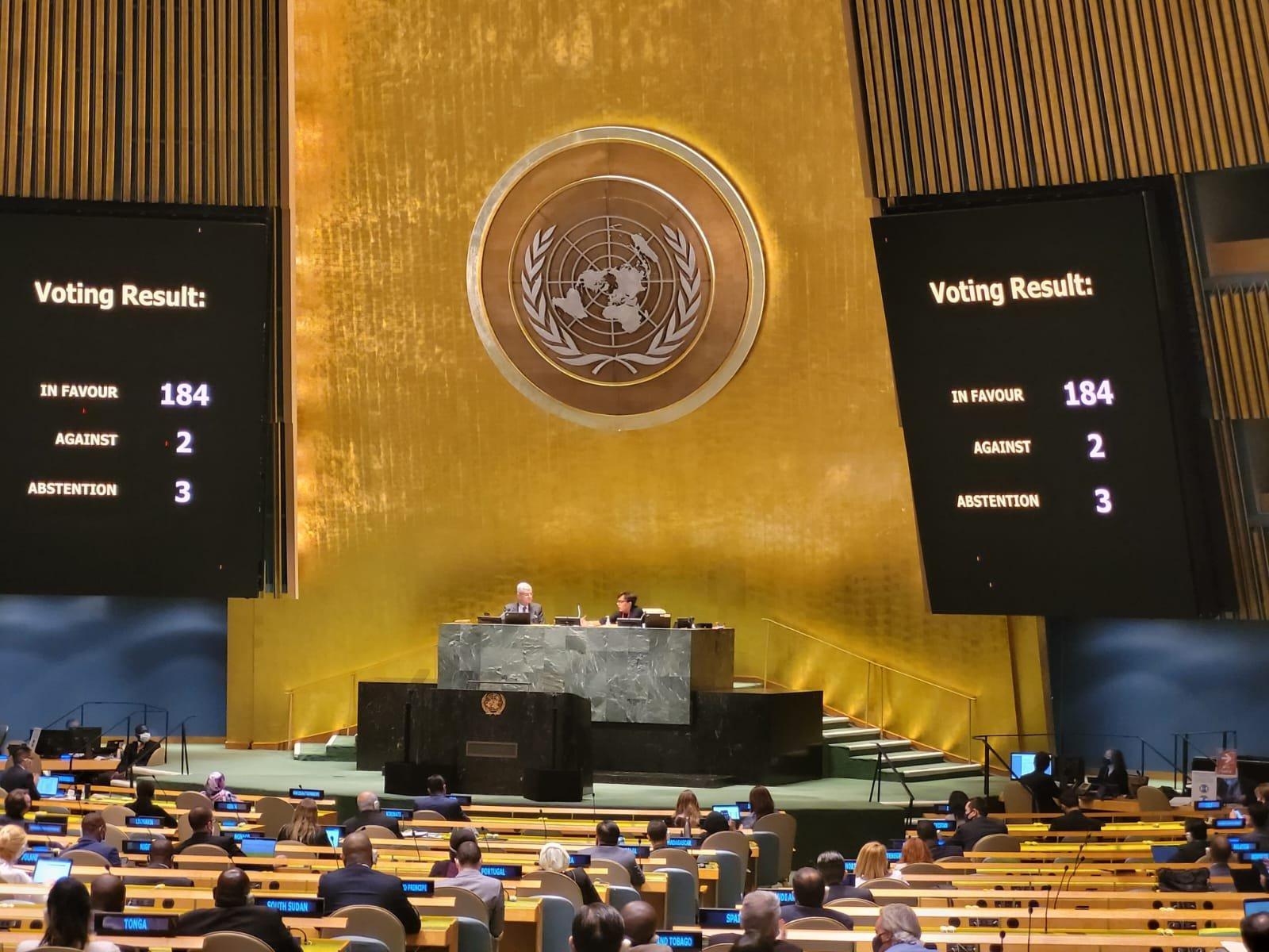 Asamblea General de la ONU: una vez más el mundo exige fin del bloqueo de EE. UU. contra Cuba