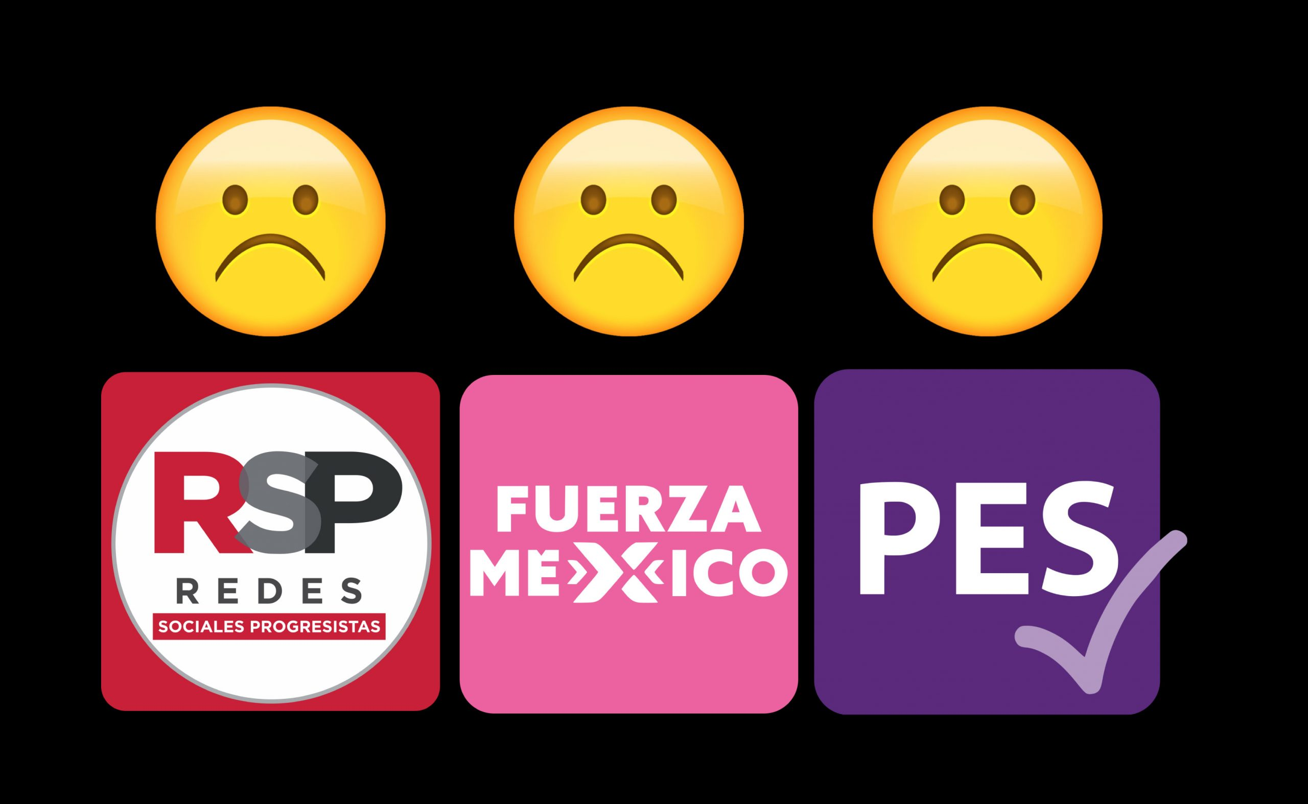 Bye bye: RSP, FM y PES no podrán contender en 2024 al perder su registro
