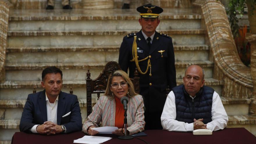Policía confirma veracidad de audios sobre plan de un segundo golpe de Estado en Bolivia