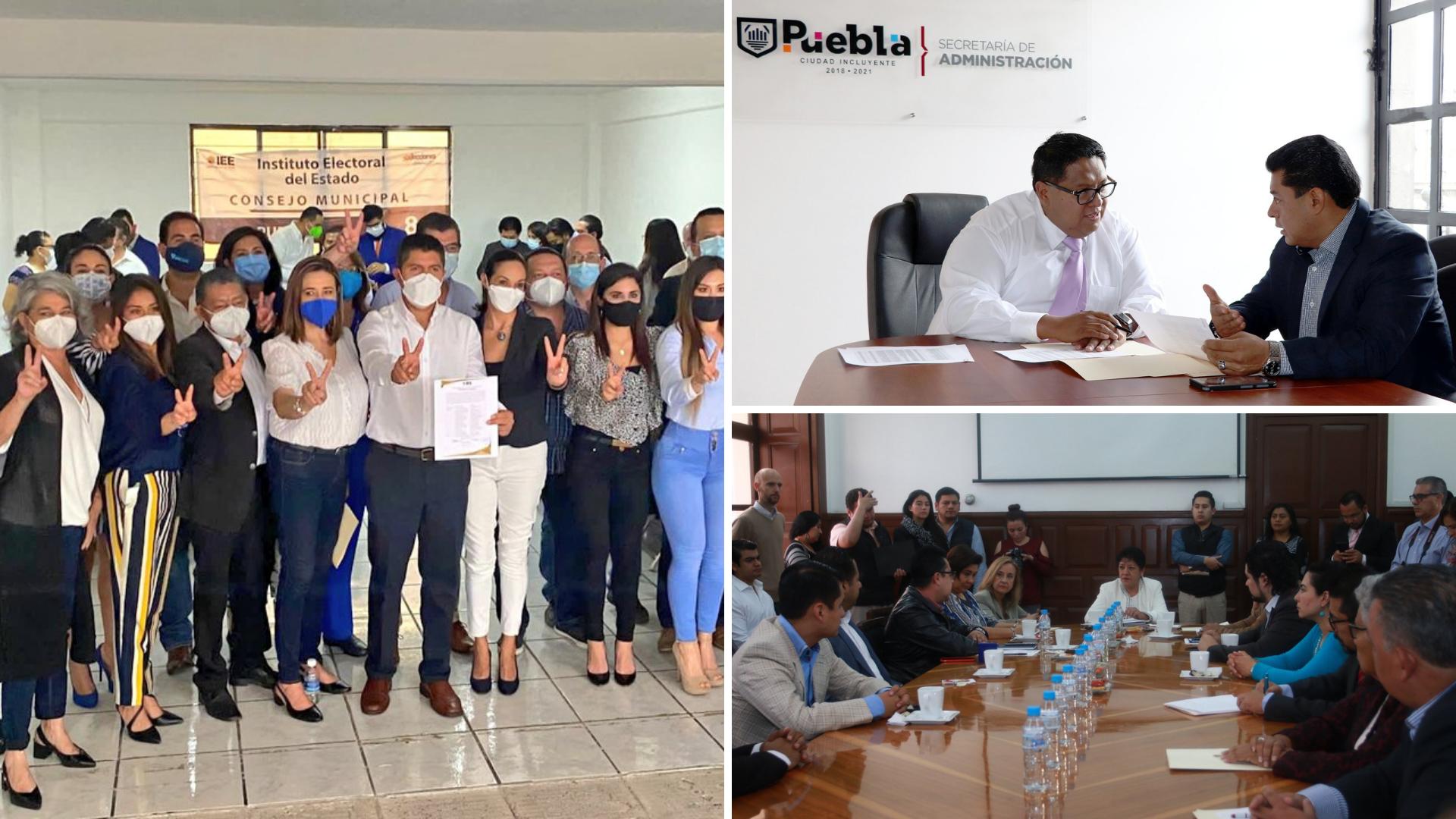 Morena consigue sólo seis regidores del próximo Ayuntamiento de Puebla; bloque del PRIANRD tendrá 16