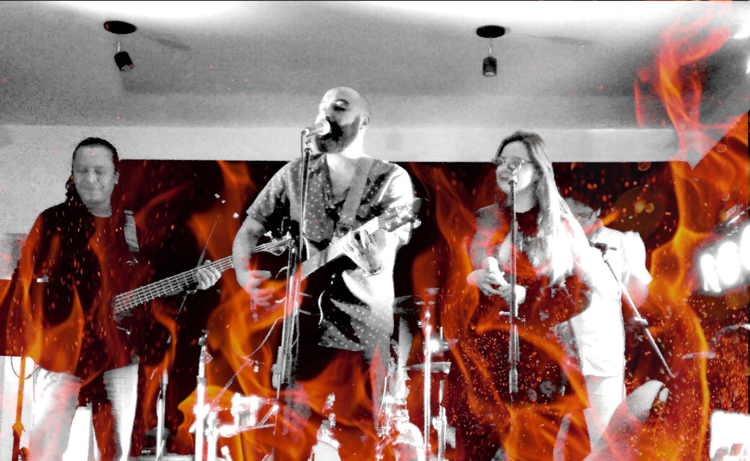 Se incendia la Hoguera: Rocko y los más buscados estrenan videoclip