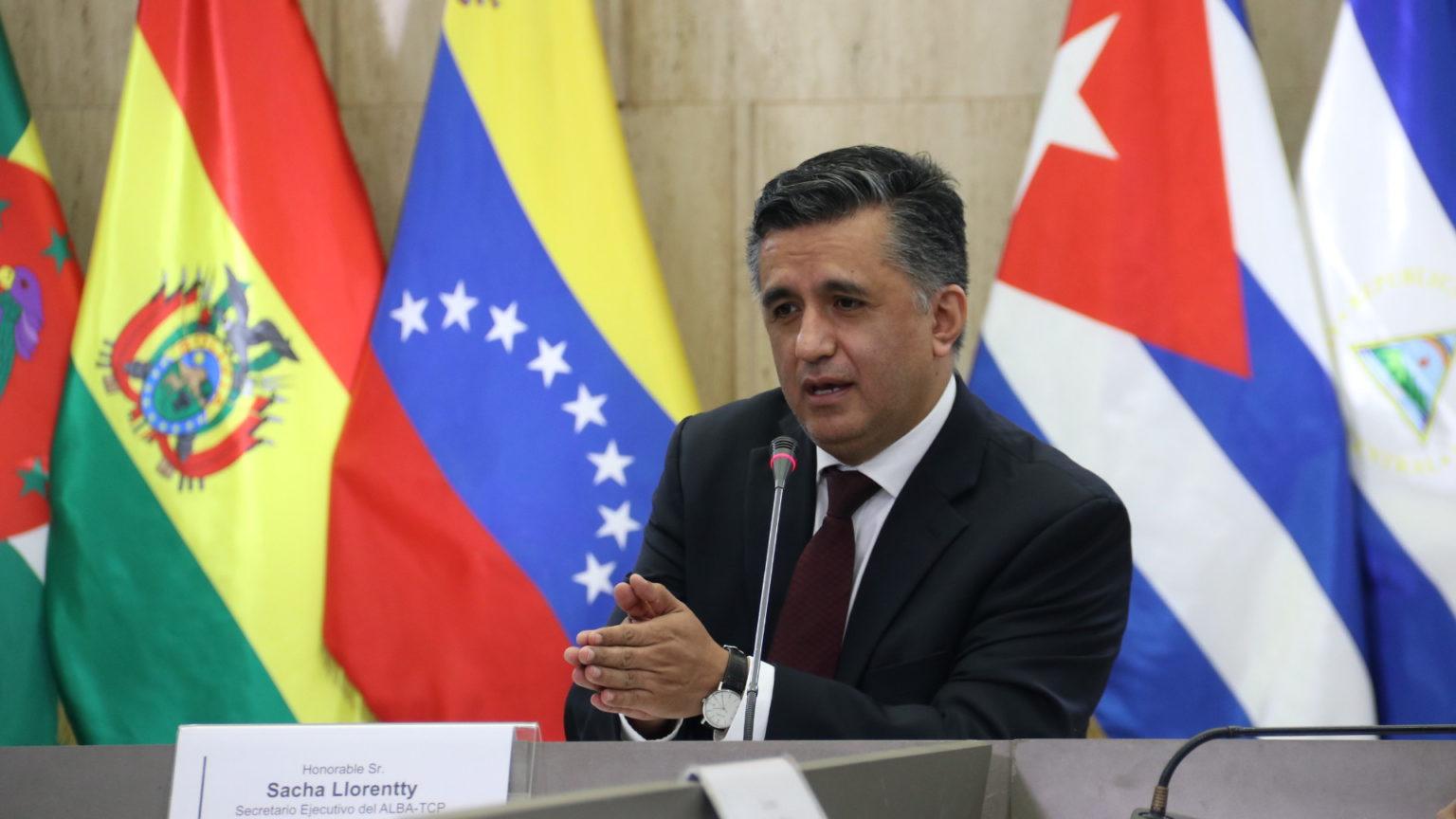 Sacha Llorenti, secretario general de la ALBA-TCP: «La Alba es una alianza para la vida y prioriza la situación de los pueblos»