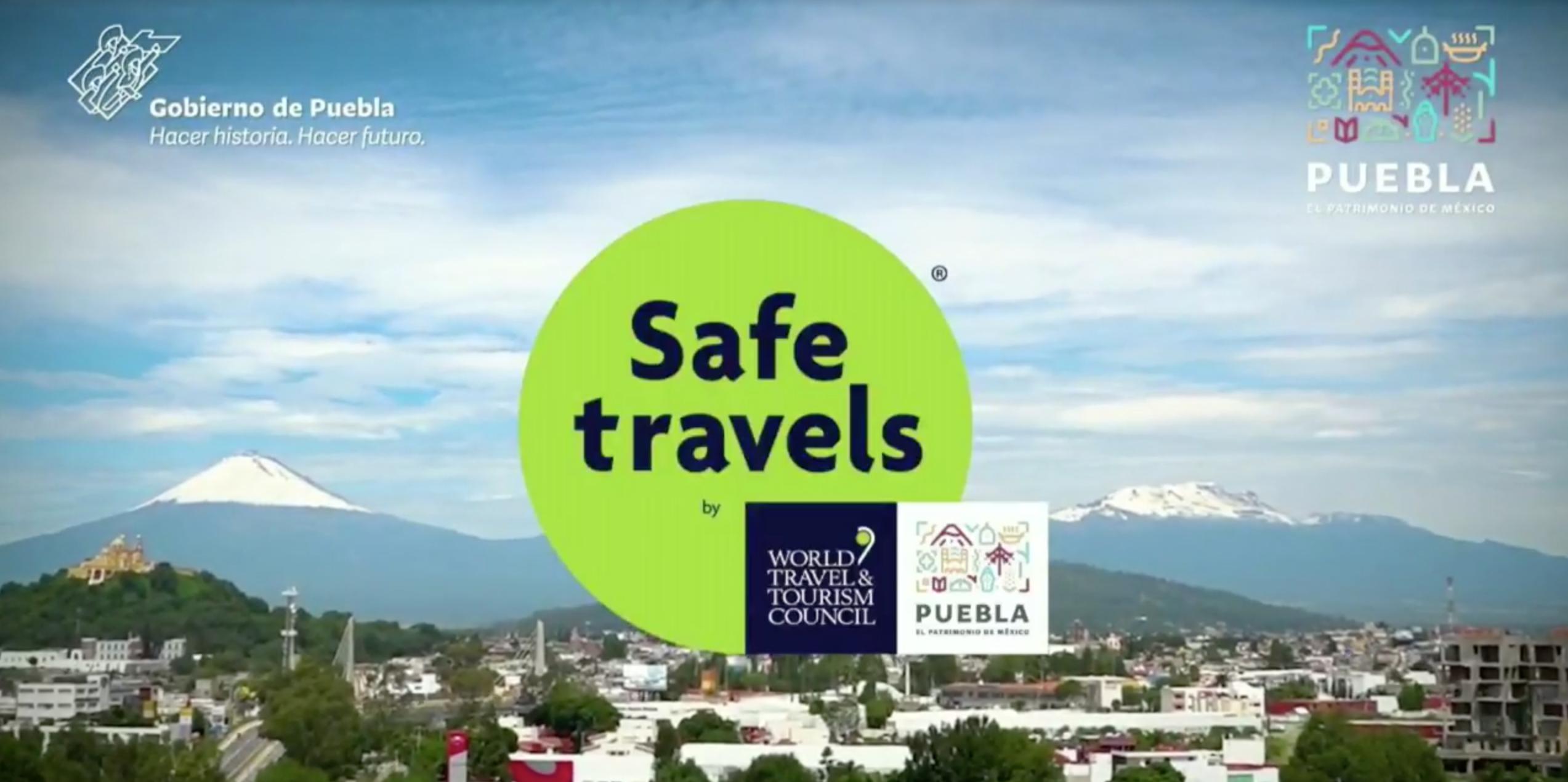 Puebla recibe facultad de emitir el sello internacional Safe Travels; se busca reactivar el turismo