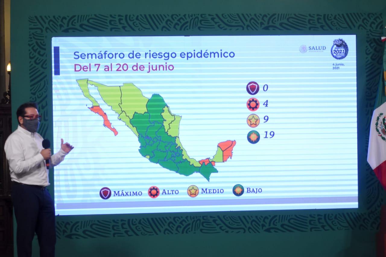 Pide López-Gatell a habitantes de la Ciudad de México que tengan prudencia ante semáforo epidemiológico verde