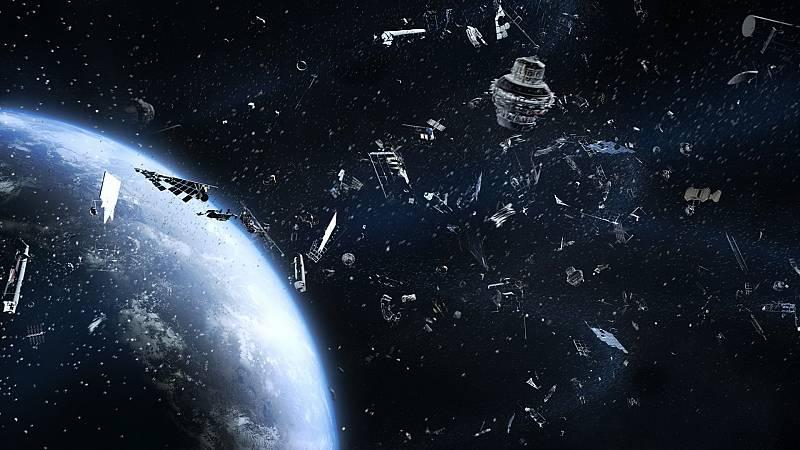 Rodean a la Tierra 9 mil toneladas de basura espacial