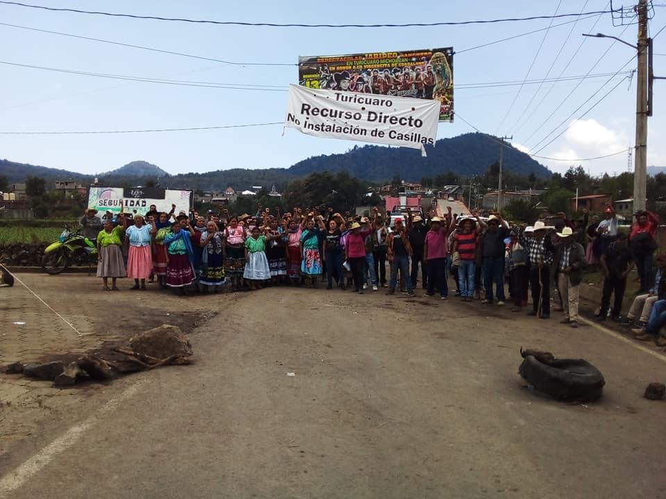 Turícuaro, en camino a la libre autodeterminación; no más partidos políticos
