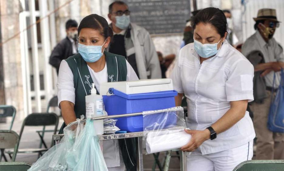 Reportan 94% de abasto medicinal en exhospitales Covid-19 de Puebla