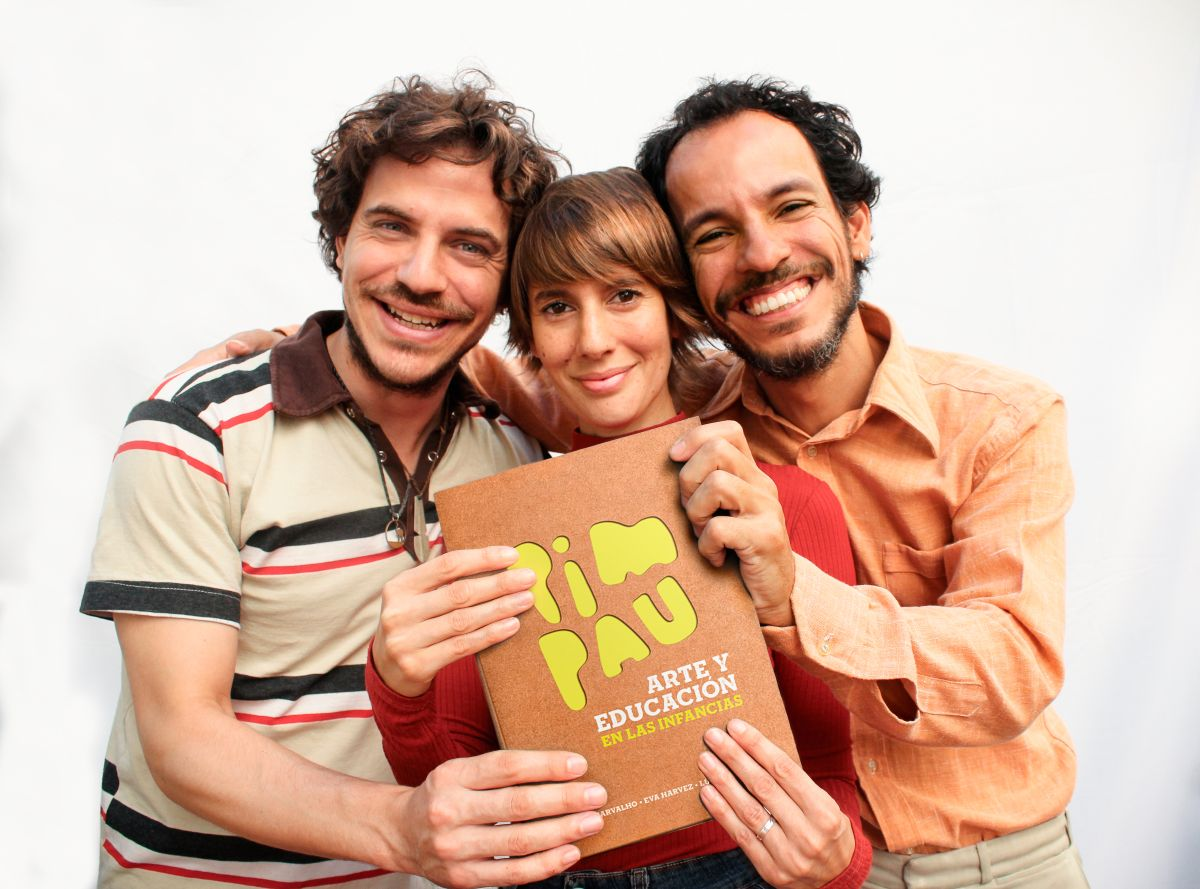 PIM PAU presenta su libro «Arte y Educación en las Infancias»