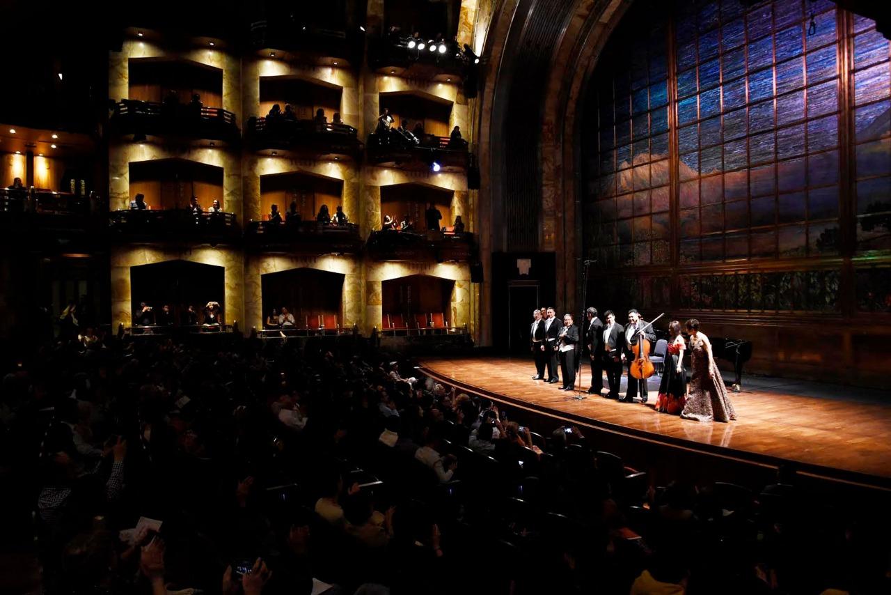 Concertistas ofrecerán la Primera Gala en el Palacio de Bellas Artes