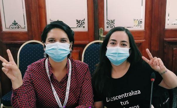 Cristina Dorador y Adriana Ampuero: las independientes que coordinarán la estratégica Comisión de Descentralización de la CC