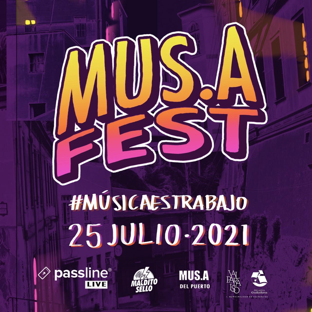 MUSAFEST, el festival que busca visibilizar y apoyar a trabajadores de la música en Valparaíso