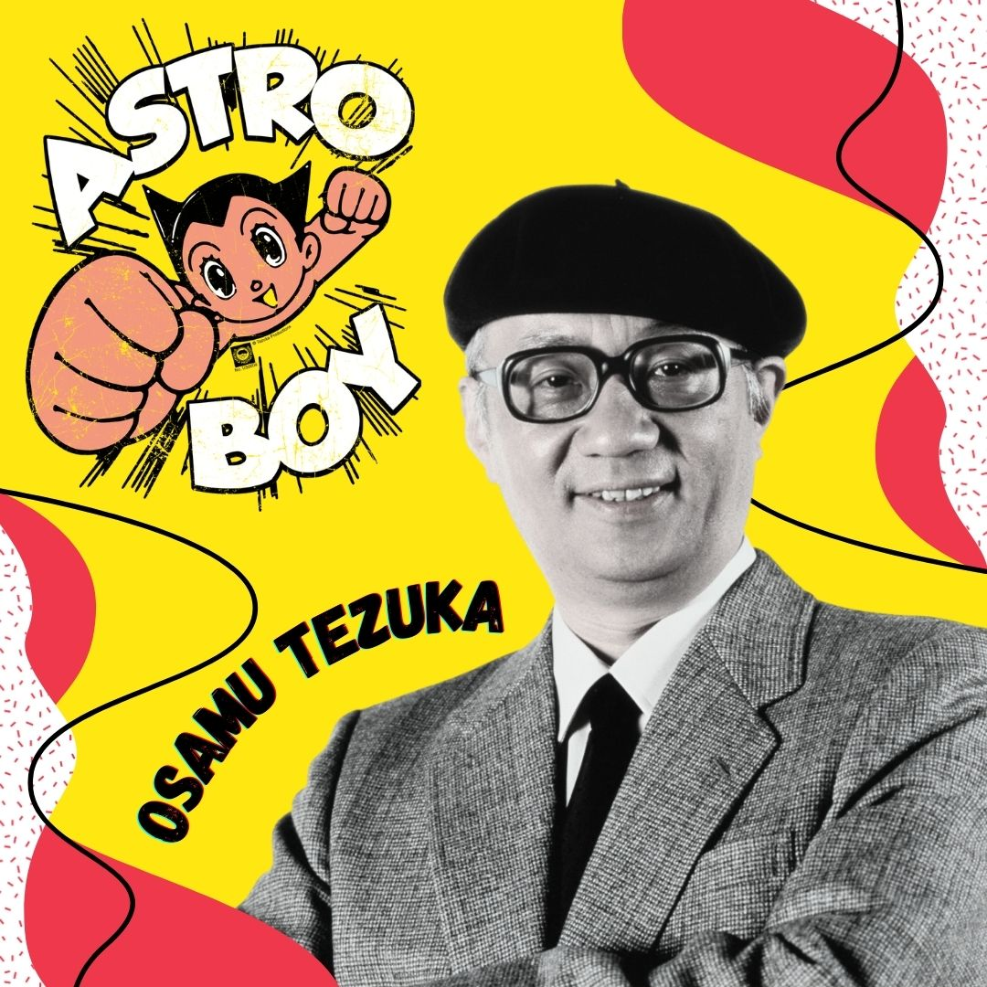"Osamu Tezuka, el ""Dios del manga"""