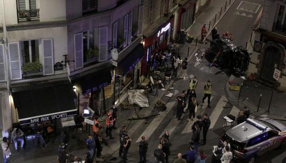 París bar accidente