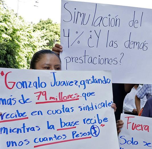 Denuncian malos manejos financieros en el Sindicato del Ayuntamiento de Puebla