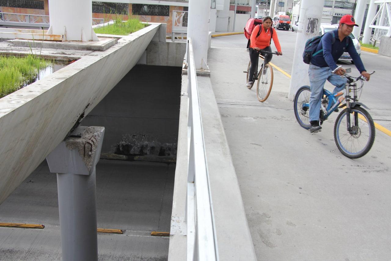 En menos de un mes se repararon desperfectos del distribuidor Juárez-Serdán; seguirán otros cuatro puentes
