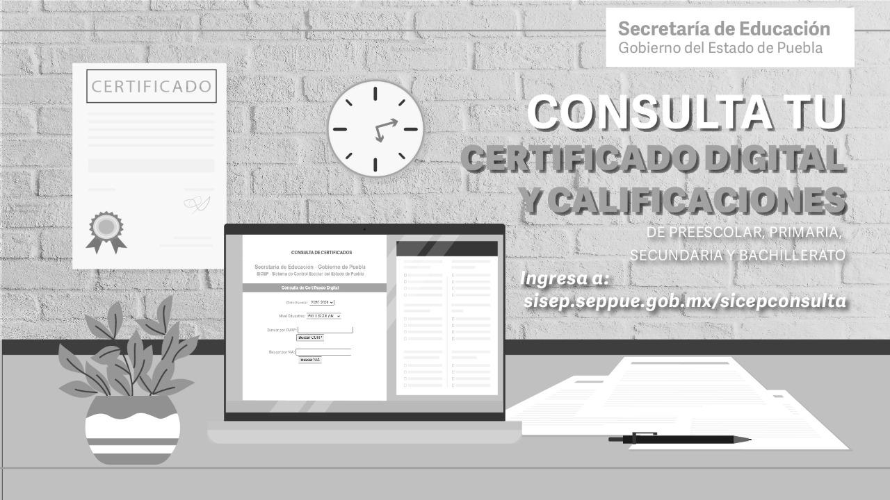 Certificados de estudios se podrán imprimir en línea de forma gratuita