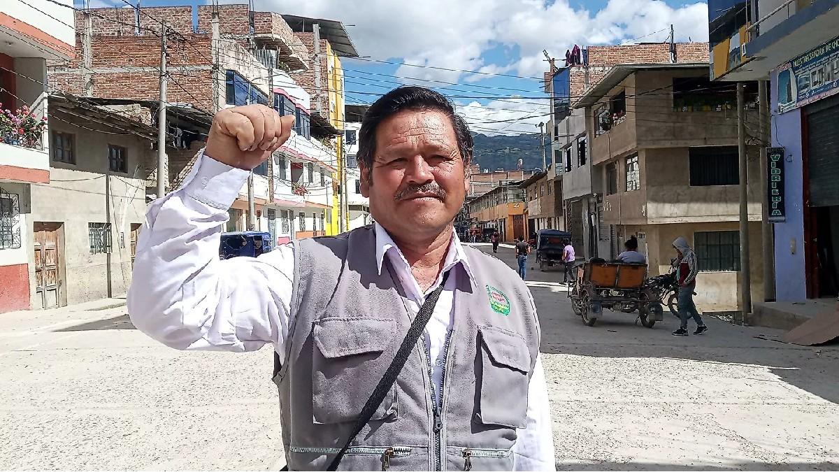 Dirigente campesino Norvil Heredia: «Somos una organización grande que vela por la seguridad de la población, como decir en Ecuador los indígenas, en Bolivia los cocaleros, en Brasil los sin tierra»