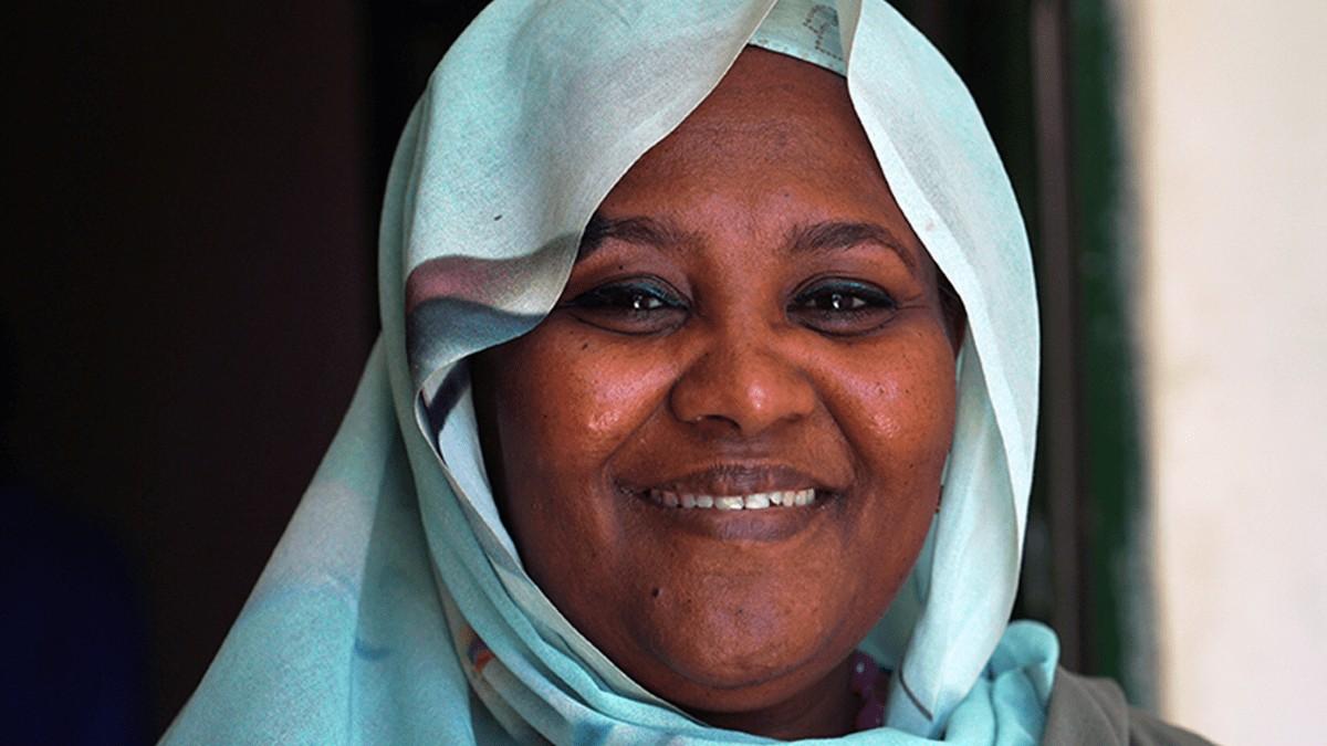 Diplomática Mariam Sadiq Mahdi: «Somos vecinos debemos trabajar juntos, debemos cooperar para utilizar mejor las aguas del Nilo»