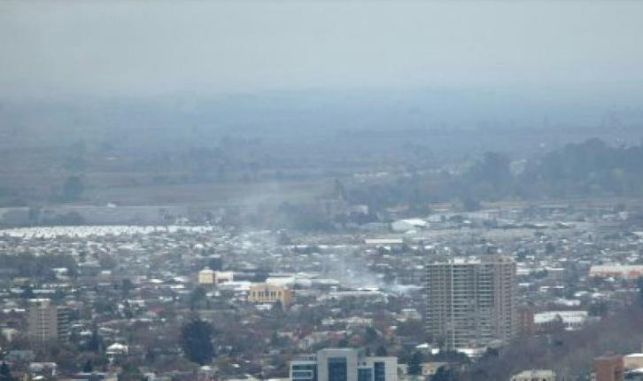 Valle central de la Región del Maule fue declarado zona saturada de material particulado