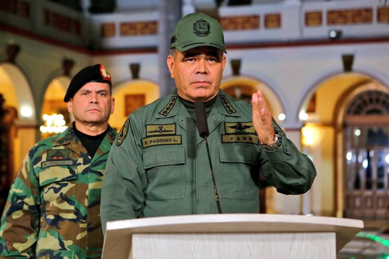 Ministro de Defensa de Venezuela: el país enfrenta una base de operaciones paramilitares de Colombia