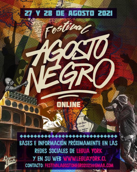 Abierta la convocatoria al Festival Agosto Negro 2021