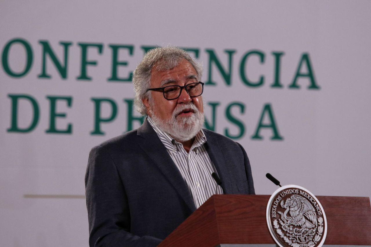 """Encinas discutirá Ley de Desaparecidos en visita a Puebla; Barbosa dice viene """"por temas de migración"""""""