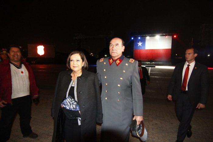 Con arraigo nacional y formalizada por lavado de dinero quedó Ana María Pinochet, esposa del General Fuente-Alba