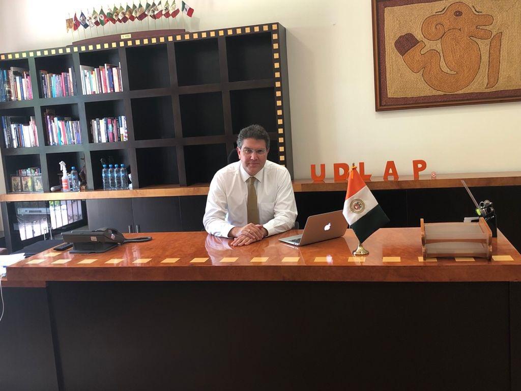 Armando Ríos Piter, rector de la Udlap