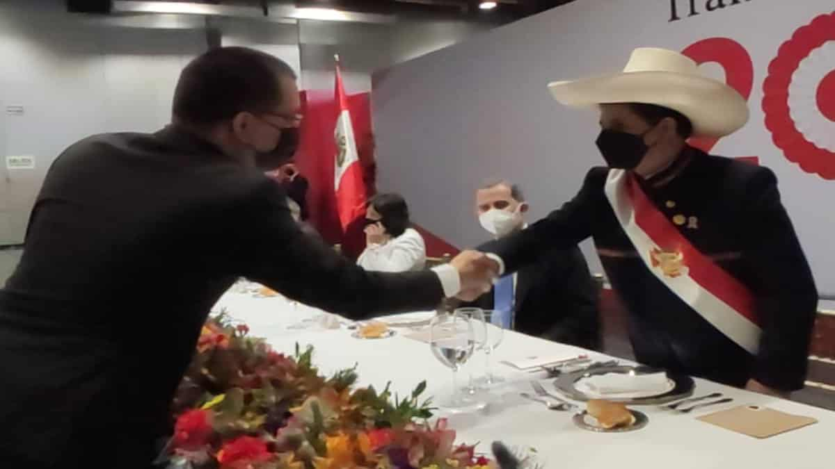 """Canciller de Venezuela: """"Aspiramos a mejorar relaciones entre ambos países"""", dijo tras toma de posesión del presidente de Perú"""