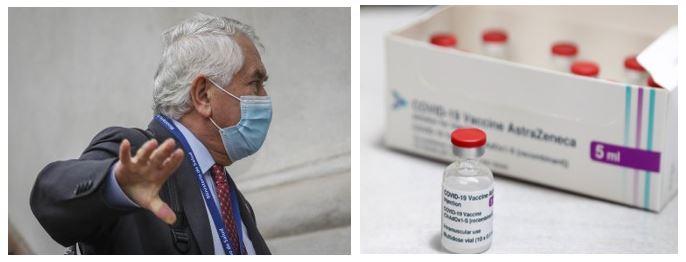 Secretismo inconcebible de AstraZeneca y Minsal para no revelar contrato de vacunas contra el Covid-19
