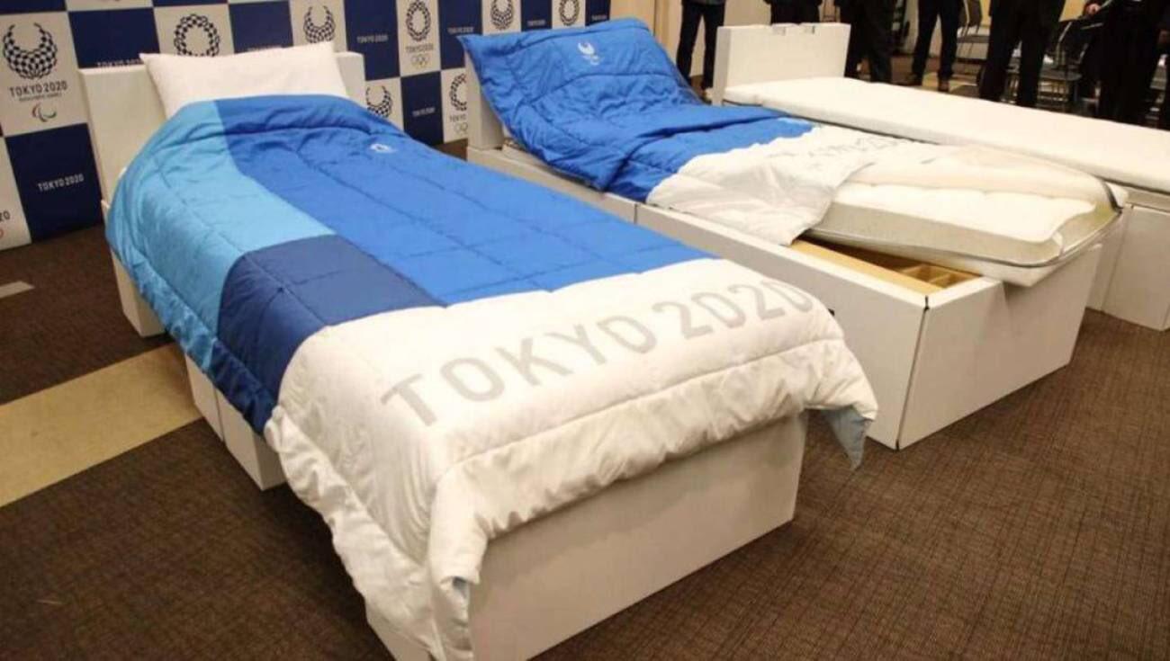 Camas antisexo para evitar contagios de Covid-19 en Tokio 2020