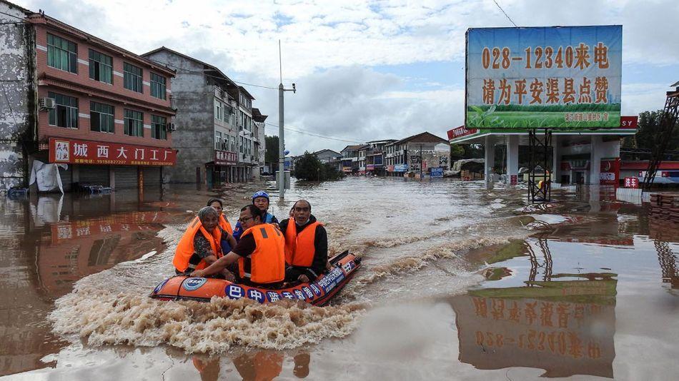 china inundaciones lluvias