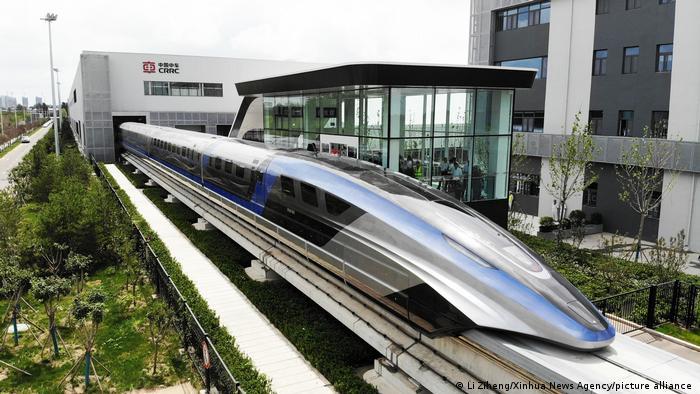 Levitación magnética crea a Maglev, el tren más rápido