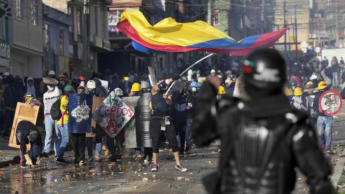 Familiar de víctima de represión en las protestas de Colombia es amenazada y amedrentada por los cuerpos policiales