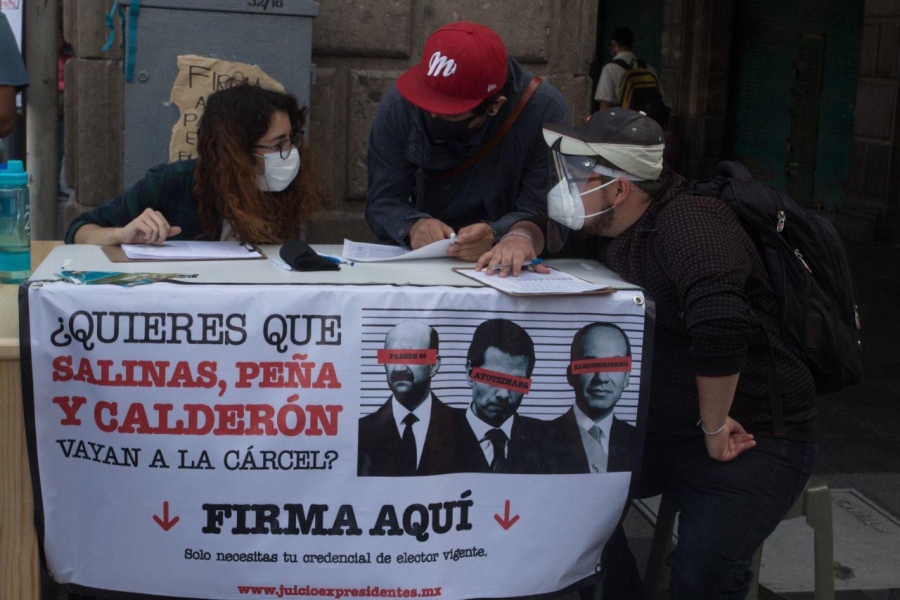 Caravana en Puebla pide votar «sí» en consulta sobre exmandatarios