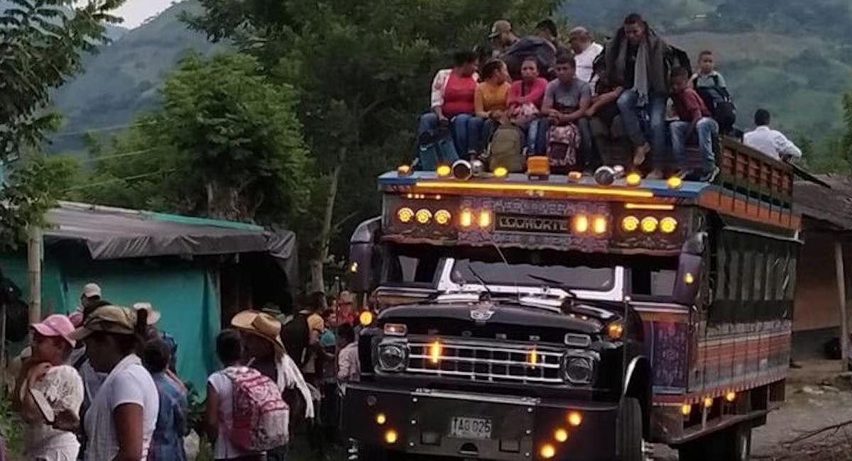 Colombia: ¿Por qué hay una crisis humanitaria y miles de desplazados en Ituango?