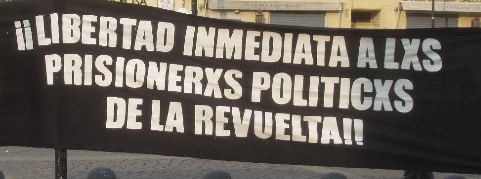 Indulto para las y los presos políticos de la revuelta y un nuevo pacto social