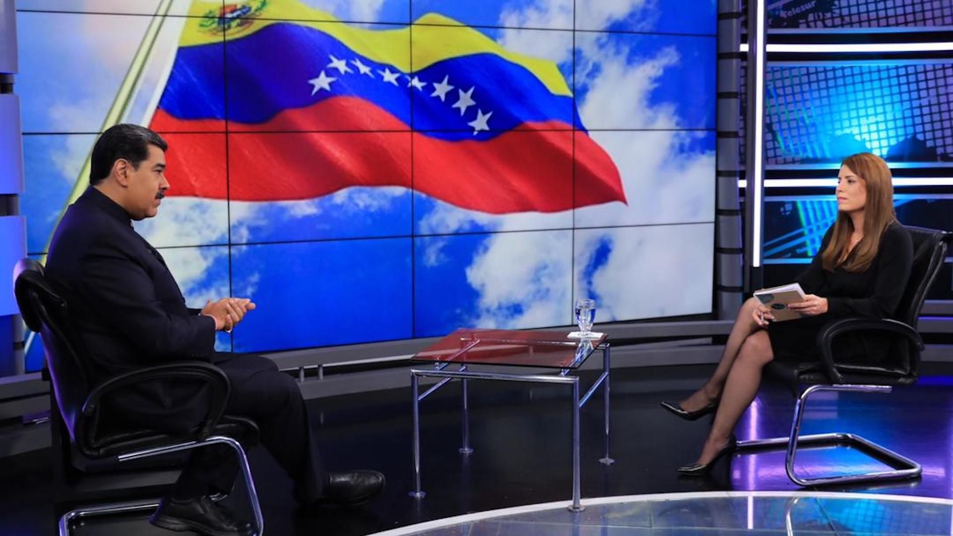 Presidente venezolano no descarta participación de EE.UU. en mesa de diálogo de México