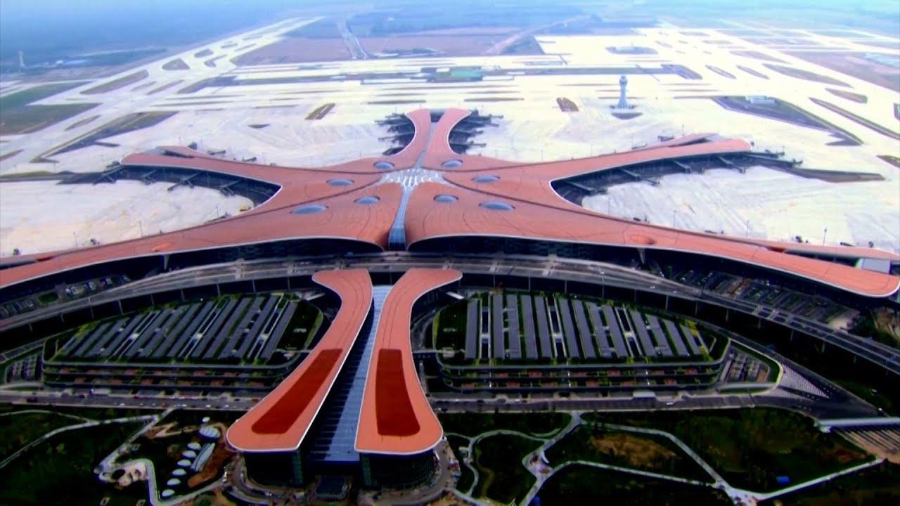 Mega aeropuerto inaugurado en China espera atender unos 60 millones de pasajeros al año