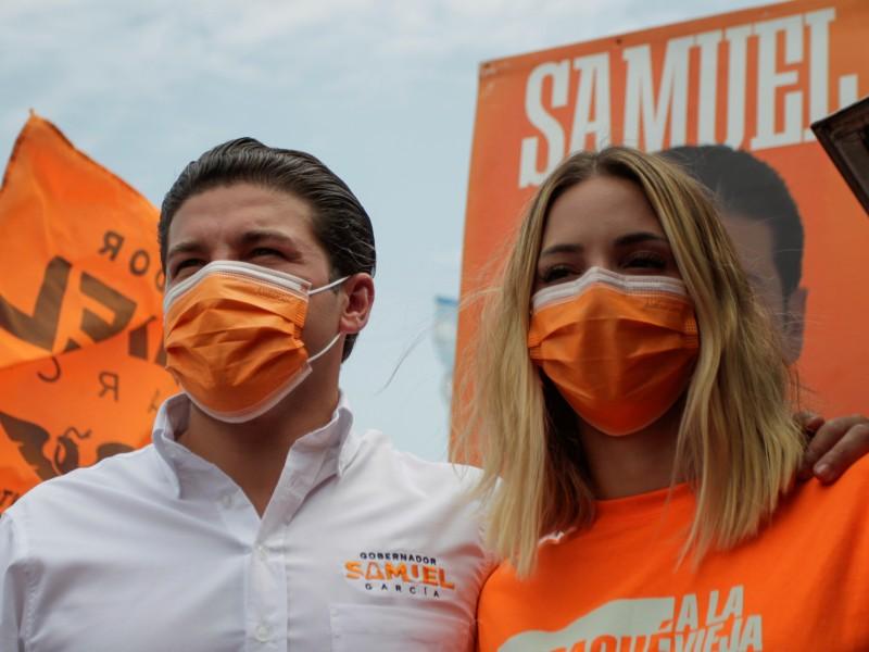 Acepta Samuel García depósitos 'legales' de familiares a su campaña