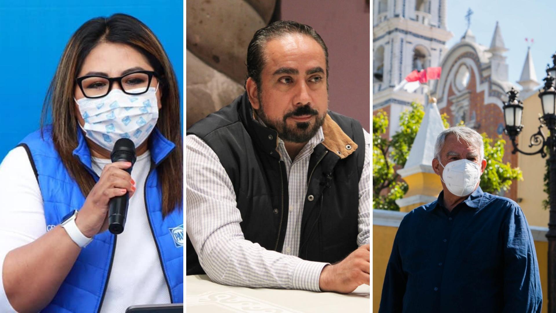 La pugna por el control del PAN en Puebla: Micalco y Fraile se lanzan contra Genoveva Huerta