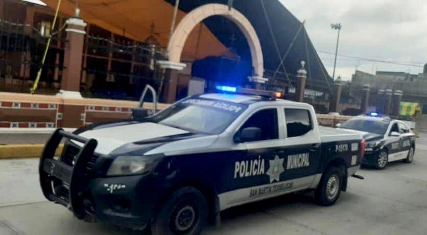 Patrulla de la policía de San Martín Texmelucan