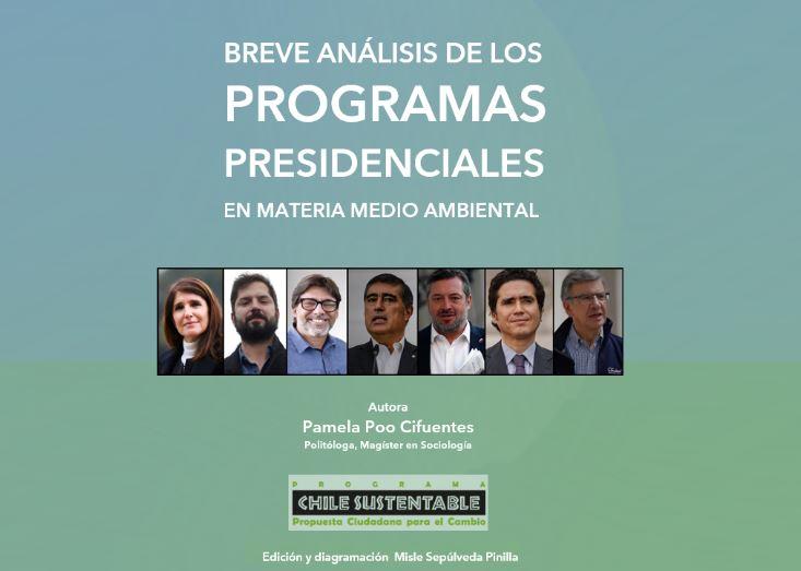 Informe Poo: El primer análisis comparado de programas ambientales de candidaturas presidenciales