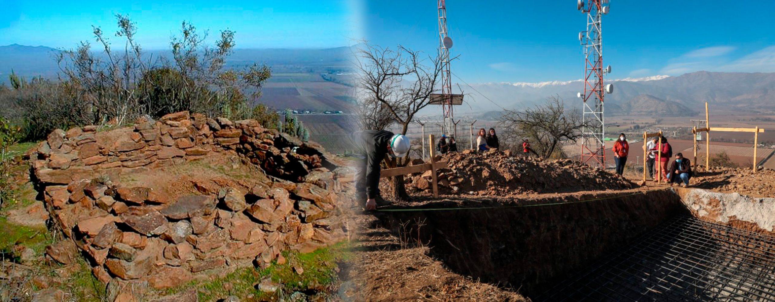 Pucará del cerro La Compañía: La fortificación histórica que cayó por la conectividad telefónica